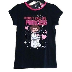 NWT Star Wars Princess Leia T-Shirt Size 6X